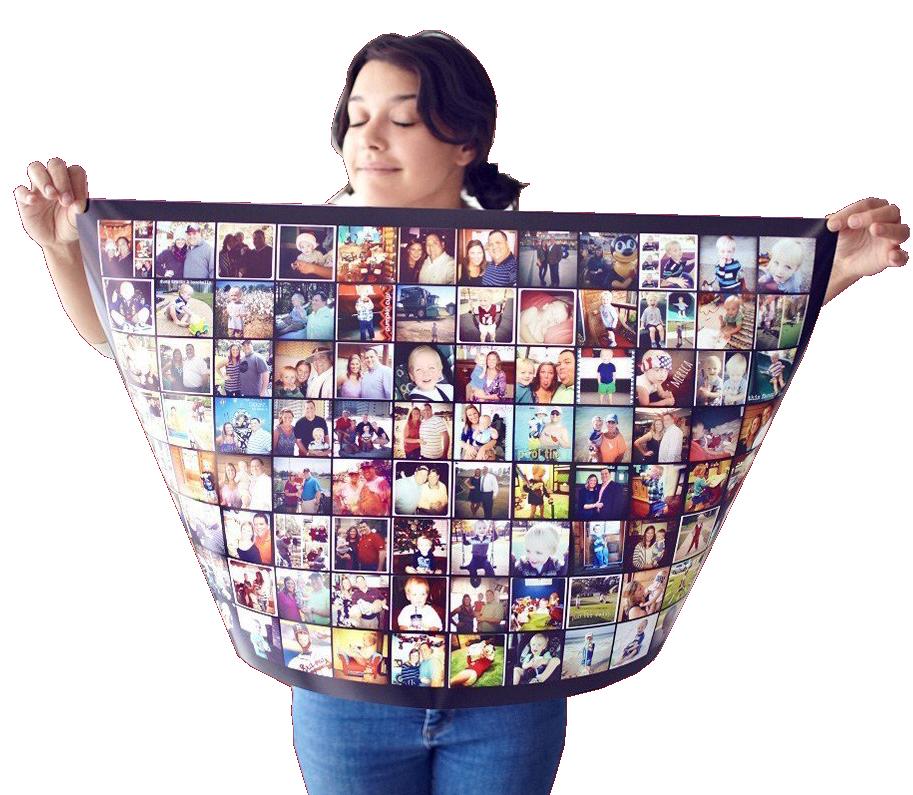 Печать фотографий на плакате фотопостер