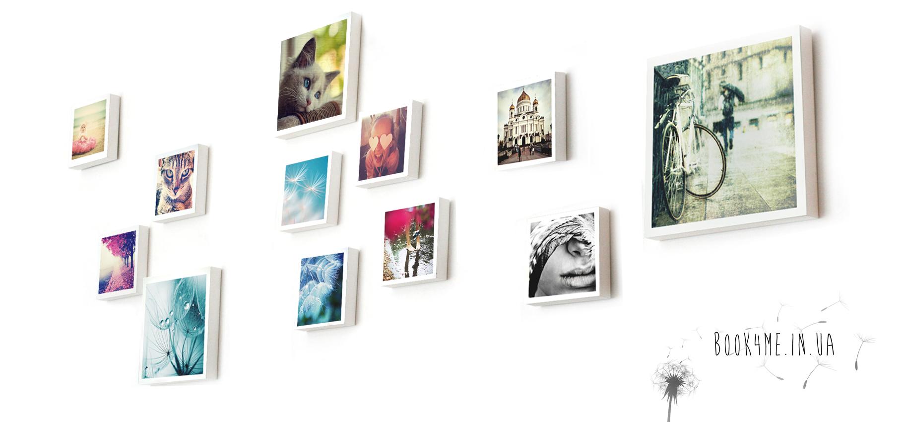 Печать фото на холсте, печать на холстах, печать картин на холстах, набор холстов на стену, ИнстаХолст