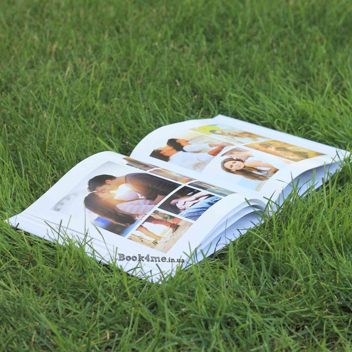 Инстабук Instabook - твердая обложка и мягкие страницы