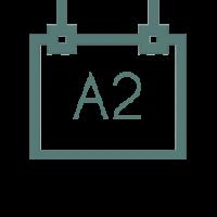 A2 горизонтальный