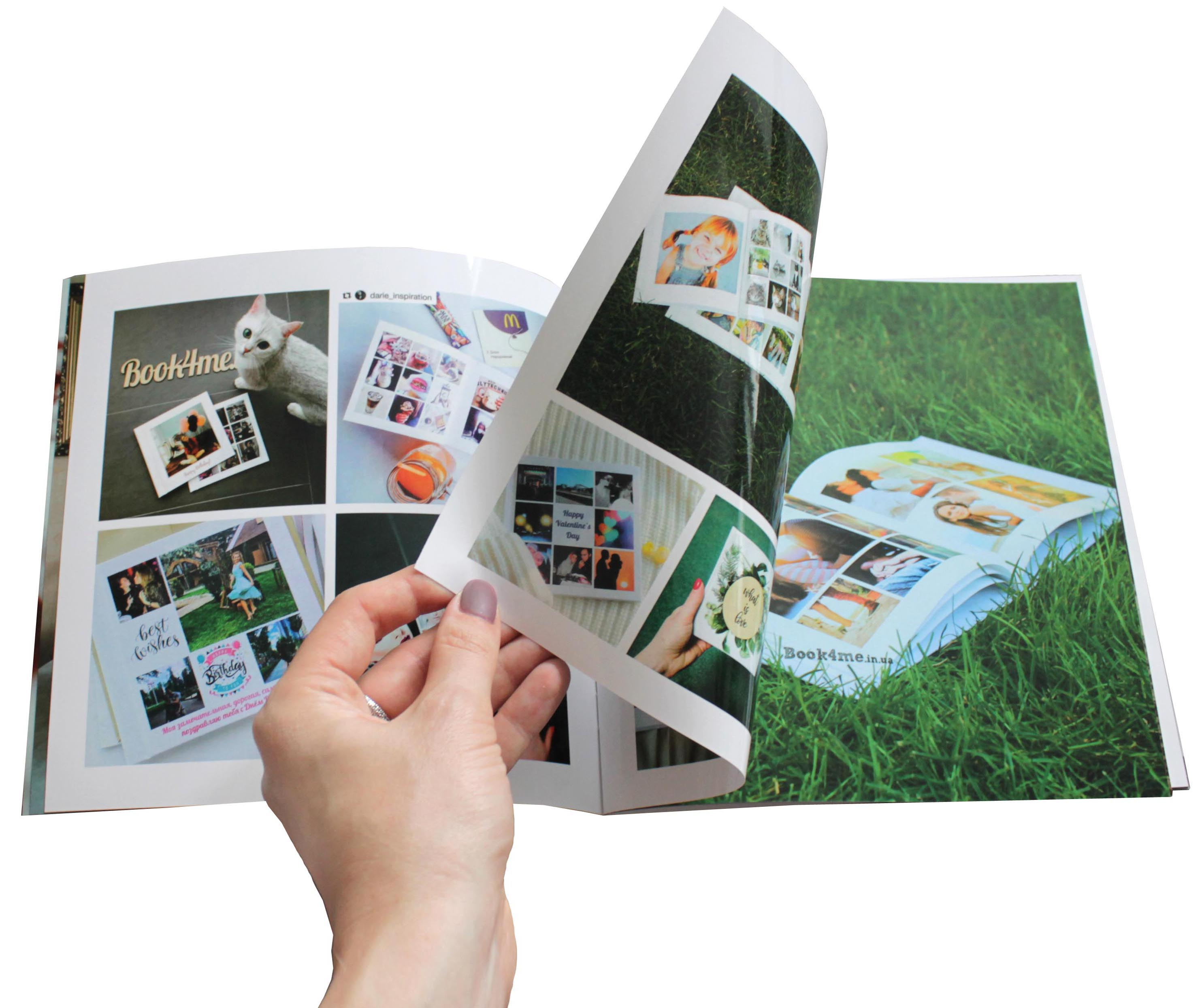Заказать фотожурнал — полная запечатка страниц — печать фотографий Букфоми