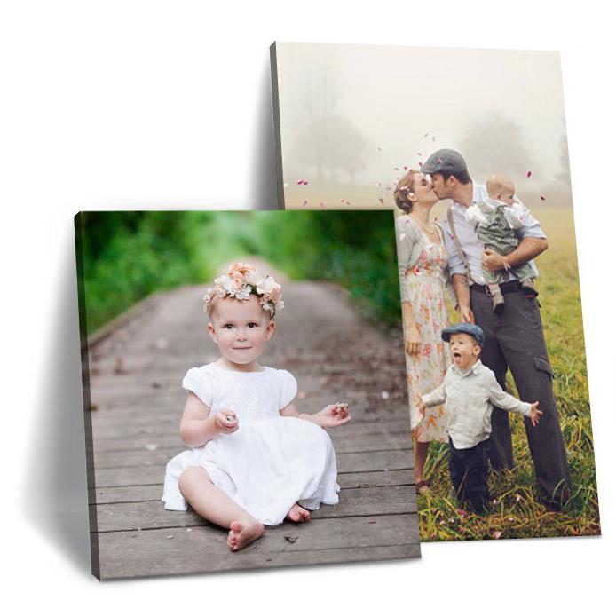 Печать фото на холсте, напечатать фото на холстах,