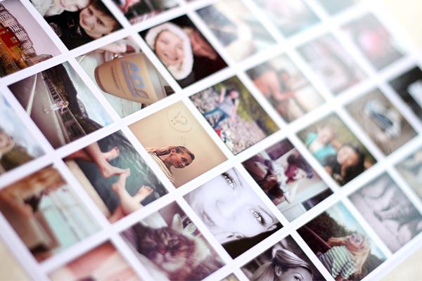 ИнстаНаклейки (ФотоНаклейки), печать фотографий на наклейках